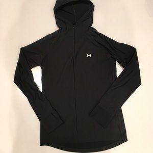 UNDER ARMOUR FULL ZIP HOODED Athletic JACKET